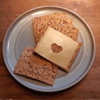 Volkoren crackers